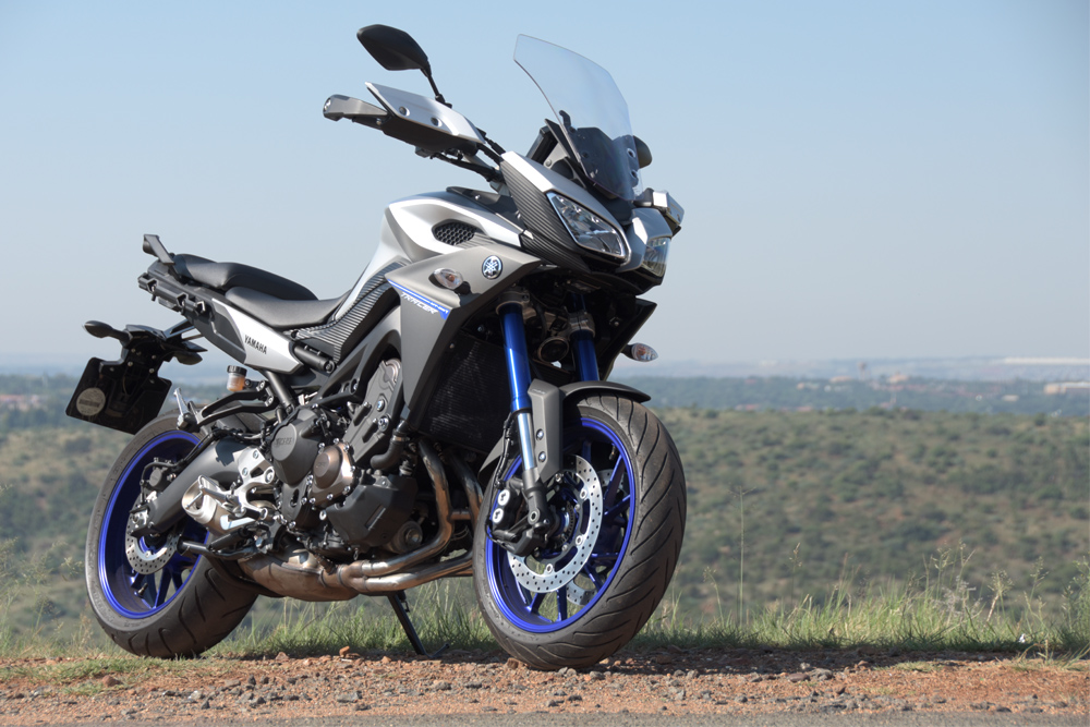 ride review yamaha mt09 tracer za bikers