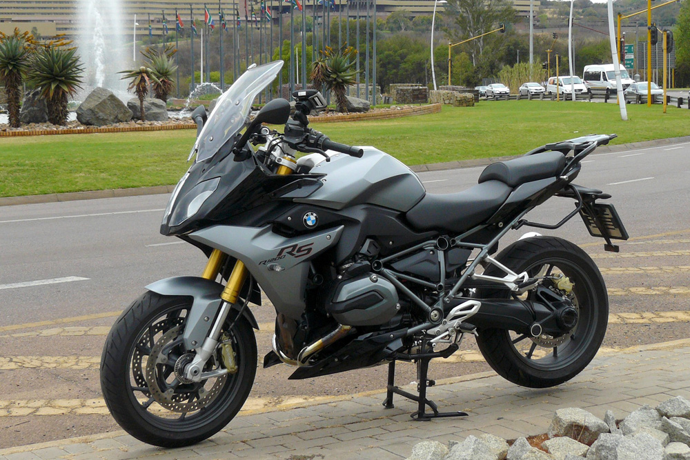 ride review bmw r 1200 rs za bikers. Black Bedroom Furniture Sets. Home Design Ideas