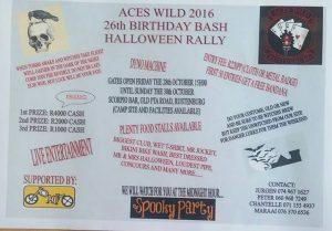 Aces wild 2016 @ Scorpio biker bar Rustenburg