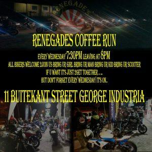 RENEGADES COFFIE RUN @ 11 Buitekant Street George Industria