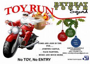 Toy Run Retreat Youth Squad @ Delta Primary Retreat