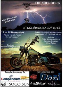Steelwings National Rally @  Alpine Heath Resort | Bonjaneni | KwaZulu-Natal | South Africa