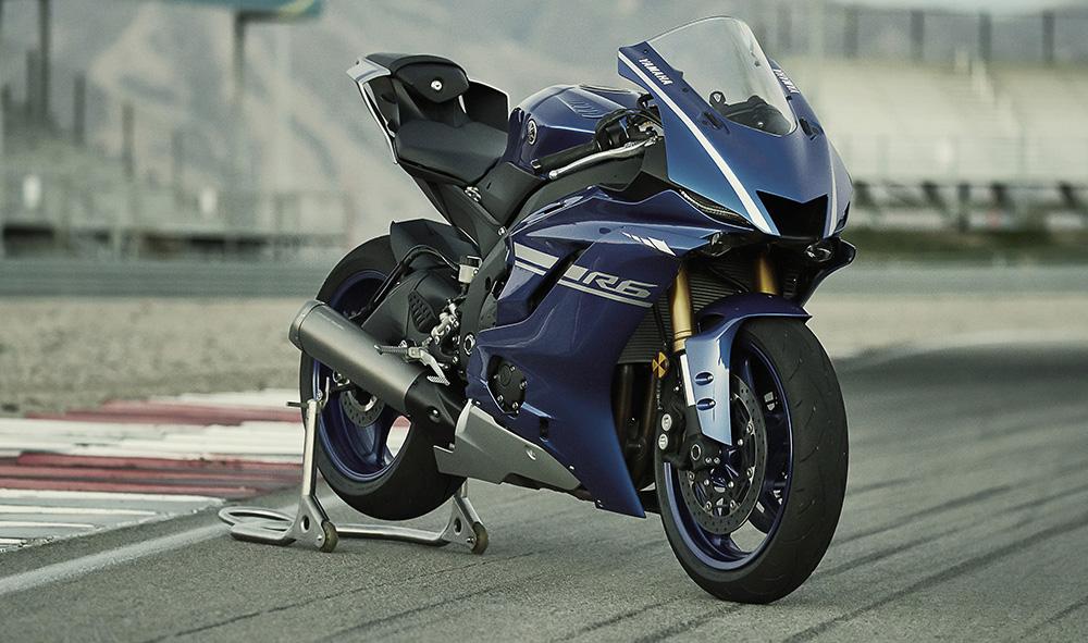 New Yamaha YZF R6