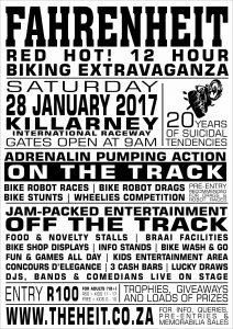 Fahrenheit @ Killarney International Raceway