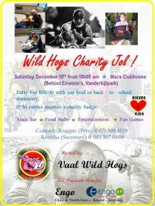 VAAL WILD HOGS CHARITY @ MAC'S VAAL CLUBHOUSE | Vanderbijlpark | Gauteng | South Africa