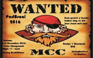 WANTED MCC PADBRAAI 2016 @ SKOUGRONDE, GRAAFF-REINET | Eastern Cape | South Africa