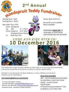 Hoedspruit Teddy Fundraiser @ The Bush Pub & Inn | Limpopo | South Africa