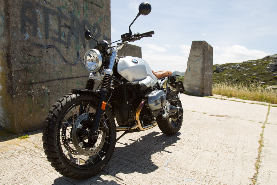 first ride: bmw r ninet scrambler - za bikers