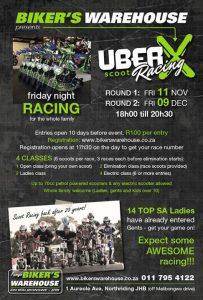 UBERX SCOOT RACING @ Bikers Warehouse