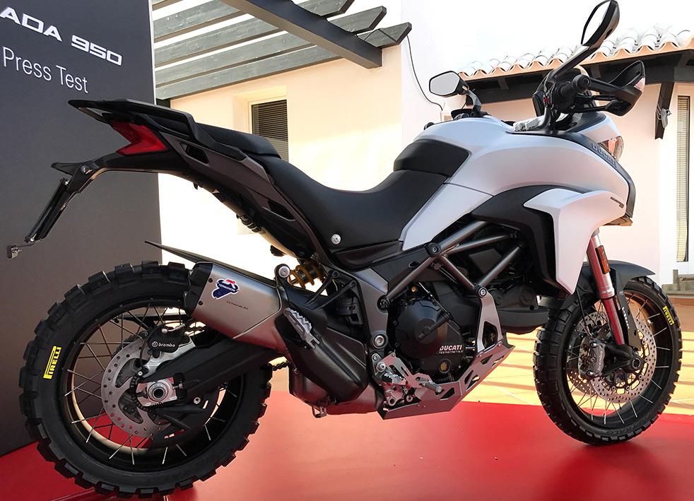first ride: ducati multistrada 950 - za bikers