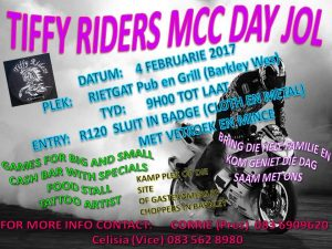 Tiffy Riders Mcc Day Jol 2017 @ Rietgat River Pub & Grill | Northern Cape | South Africa