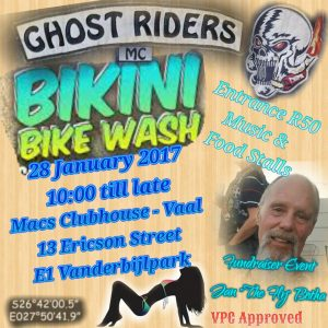 Bikini Biker Wash @ Macs Clubhouse - Vaal