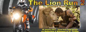 The Lion Run 2 ride to Jugomaro @ Jugomaro Predator Park SA