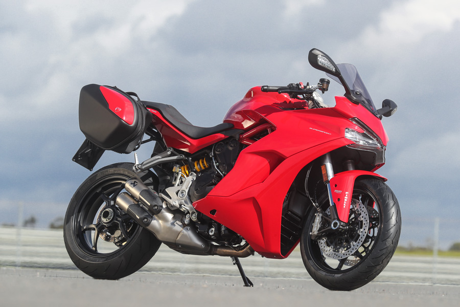 first ride: ducati supersport & supersport s - za bikers