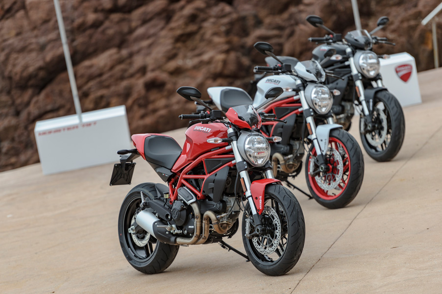 first ride: ducati monster 797 - za bikers