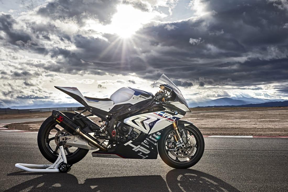 The New Bmw Hp4 Race Za Bikers