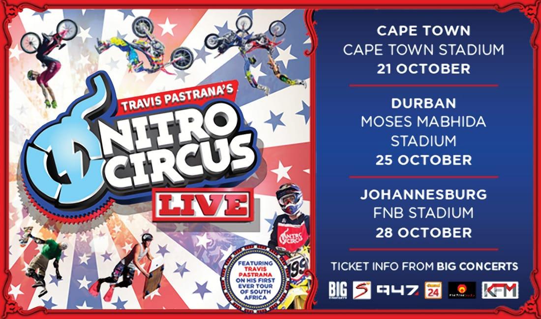 Worldwide Action Sports Phenomenon Nitro Circus Live