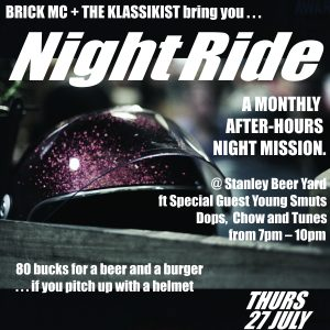 Night Ride #6 @ Stanley Beer Yard | Johannesburg | Gauteng | South Africa