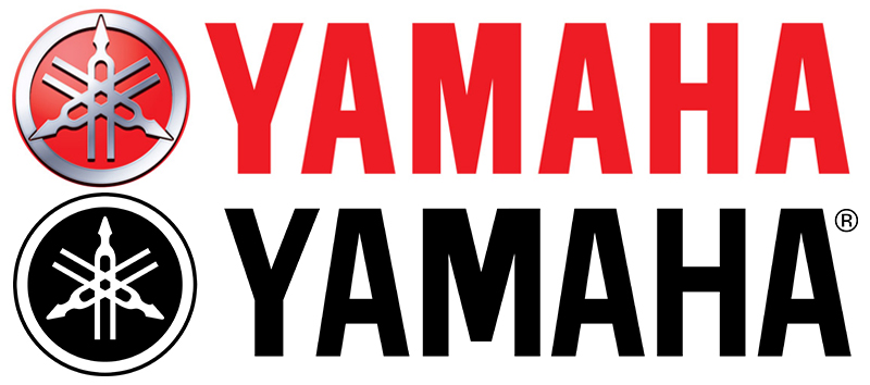 """The Yamaha name has a 'M' with even length legs in the Motor Company logo but a shorter middle for the parent. """"OK, be honest, how many of you noticed that?"""