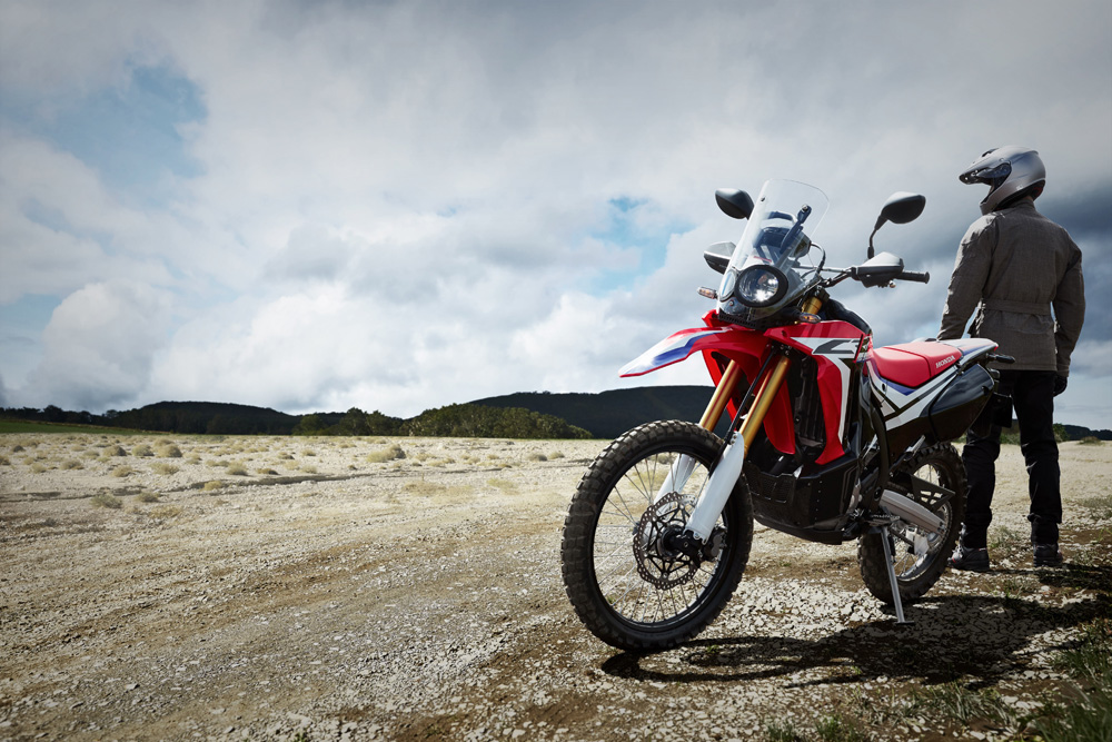 The Honda Crf250 Rally Za Bikers