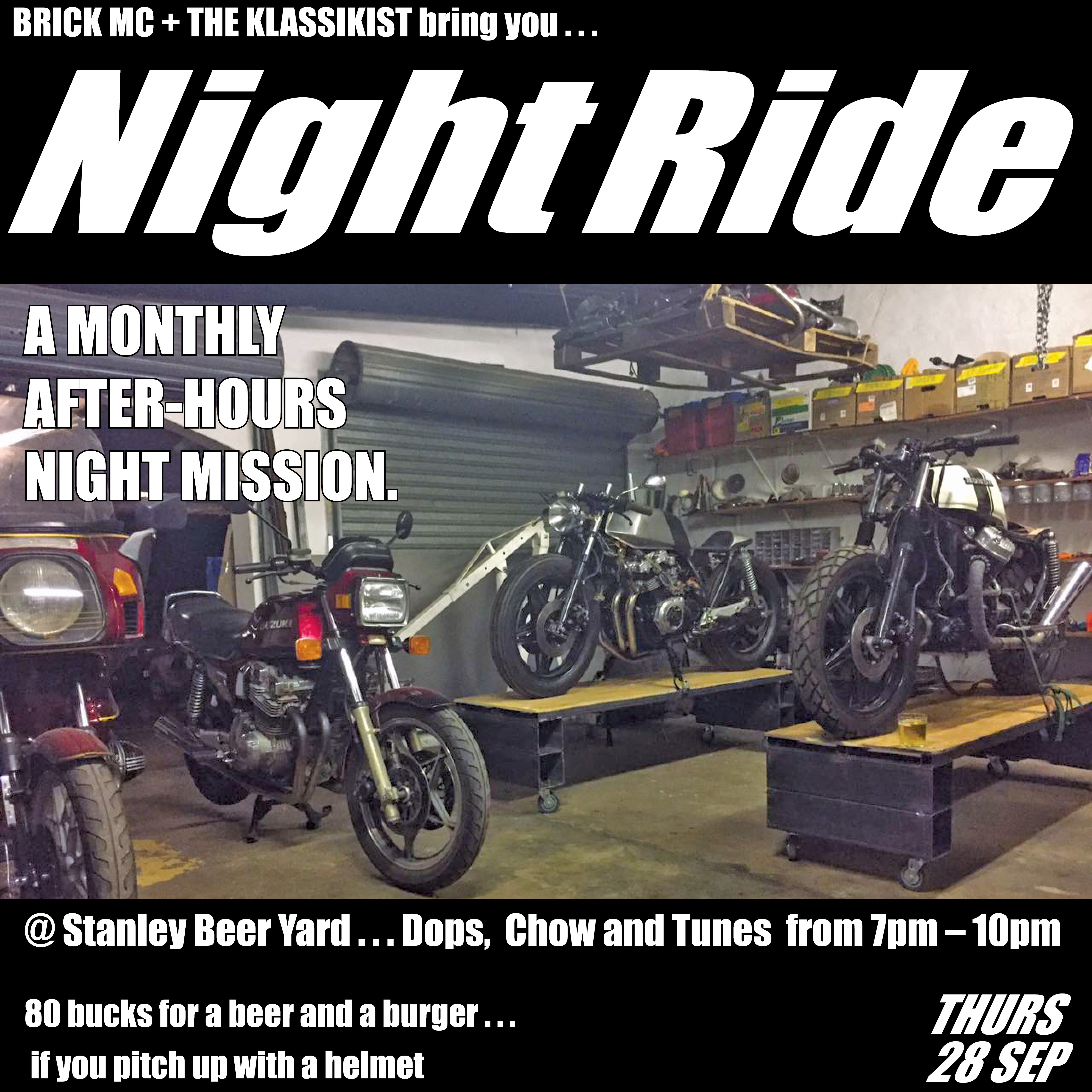 Night Ride @ Stanley Beer Yard | Johannesburg | Gauteng | South Africa