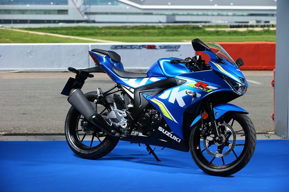 First Ride The 2018 Suzuki Gsx R125 Za Bikers