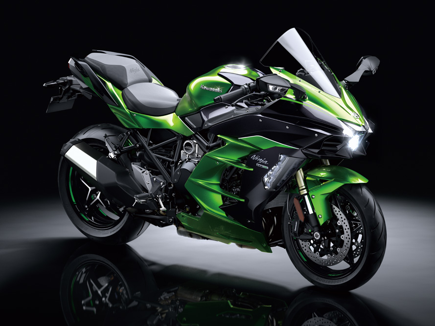 Thanks To Its Light Weight In Standard Trim The Ninja H2 SX Weighs Only 18 Kg More Than Has A Power Ratio