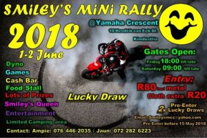 SMILEY'S MINI RALLY @ YAMAHA CRESCENT
