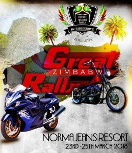 GREAL RALLY ZIMBABWE @ NORMA JEAN'S LAKEVIEW RESORT  | Zimbabwe