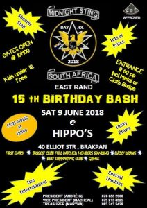 MIDNIGHT STING DAY JOL @ HIPPO'S | Brakpan | Gauteng | South Africa