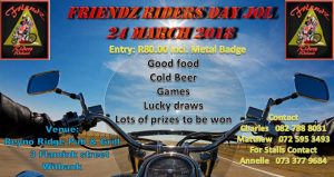 Friendz Riders Dayjol @ Reyno Ridge Pub & Grill    Emalahleni   Mpumalanga   South Africa