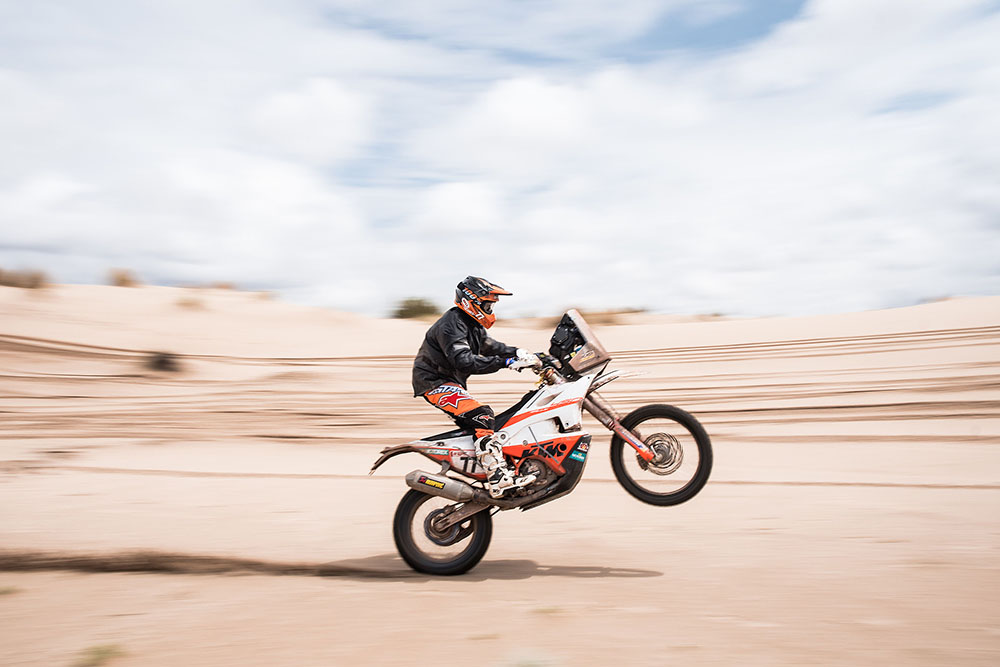 Kevin Henkes Quote Today Was A Difficult Day Tomorrow: STRONG DAY FOR KTM AS MEO WINS STAGE EIGHT Dakar Rally