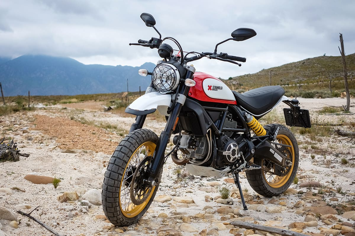 the scrambler ducati desert sled is actually a scrambler. Black Bedroom Furniture Sets. Home Design Ideas