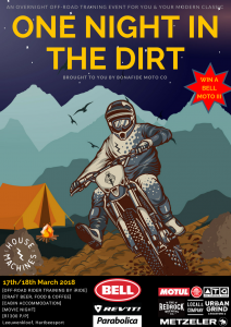 One Night in the Dirt with Bonafide Moto Co