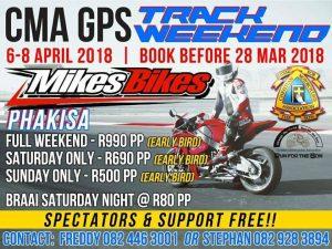 CMA GPS TREACK WEEKEND @ PHAKISA