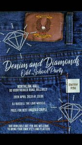 Denim and Diamonds Old School Party @ NORTHLINK HALL  | Cape Town | Western Cape | South Africa