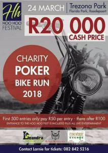 CHARITY POKER RUN @ TREZONA PARK   Roodepoort   Gauteng   South Africa