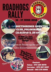 ROADHOGS RALLY @ SOETDORING COUNTRY CLUB  | Polokwane | Limpopo | South Africa