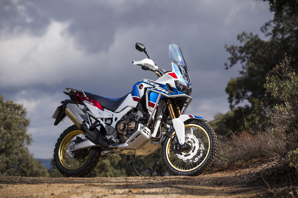 The 2018 Honda Africa Twin Adventure Sports