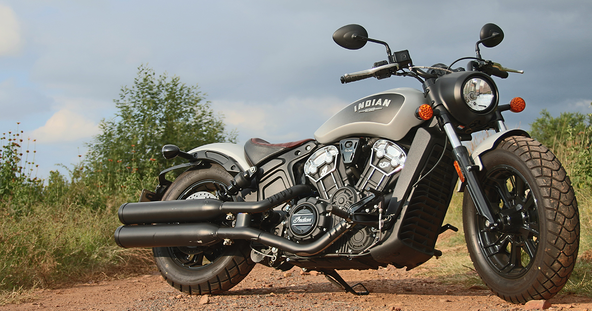 Indian Scout Bobber – Power cruiser meets cool - ZA Bikers