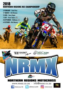 Northern Regions Motocross Championship 2018 @ TERRA TOPIA