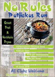 No Rules Potjie Run @ Hartbeespoort Holiday Resort | Brits | South Africa