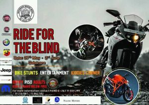 RIDE FOR THE BLIND @ GABARONE