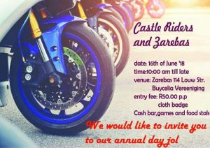 CASTLE RIDERS AND ZAREBAS @ ZAREBAS  | Vereeniging | Gauteng | South Africa