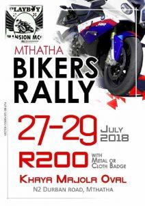 MTHATHA BIKERS RALLY @ KHAYA MAJOLA OVAL  | Durban | KwaZulu-Natal | South Africa