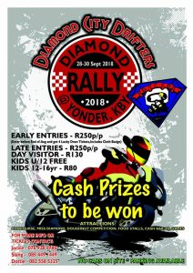 Diamond Rally 2018 @ Yonder in Kimberley | Kimberley | Northern Cape | South Africa