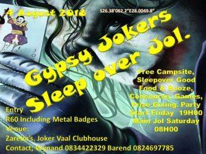 GYPSY JOKERS MC Annual OVERNIGHTER Jol @ Zareba's (Gypsy Joker Vaal Clubhouse) | Meyerton | Gauteng | South Africa