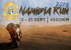 Namibia Run 2018 @ Christian Motorcyclists Association (CMA) South Africa 1685 Midrand, Gauteng.