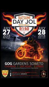 BATSUMI DAY JOL @ GOG GARDENS  | Soweto | Gauteng | South Africa