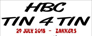 HBC Tin4Tin @ Zakkers Pub N Grill-Brits Brits | Brits | North West | South Africa